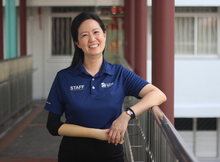 Humans of Habitat: Not Defined by Handicap, She Gives Back to Society - Sim Chunhui
