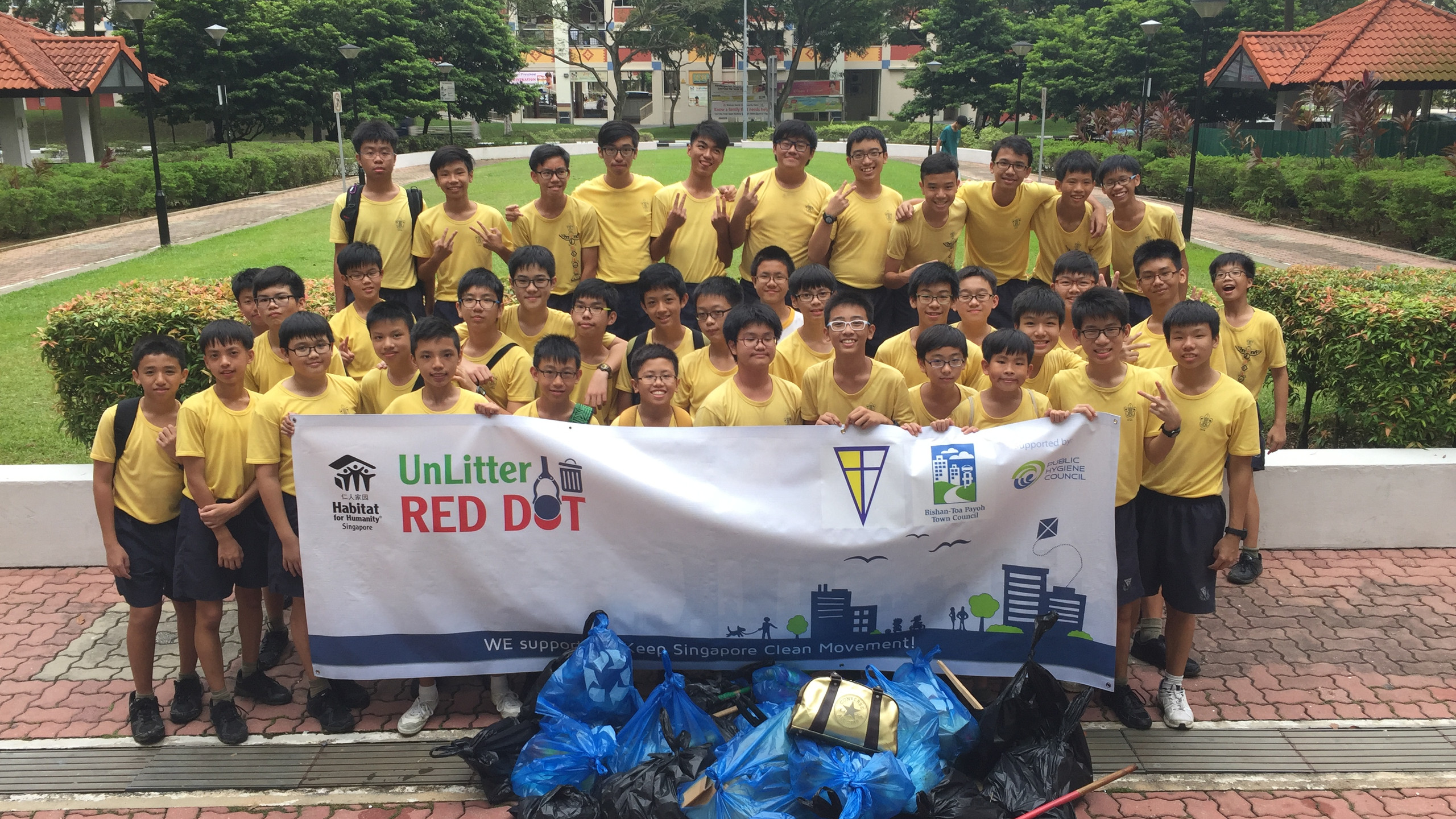 UnLitter Red Dot with Catholic High