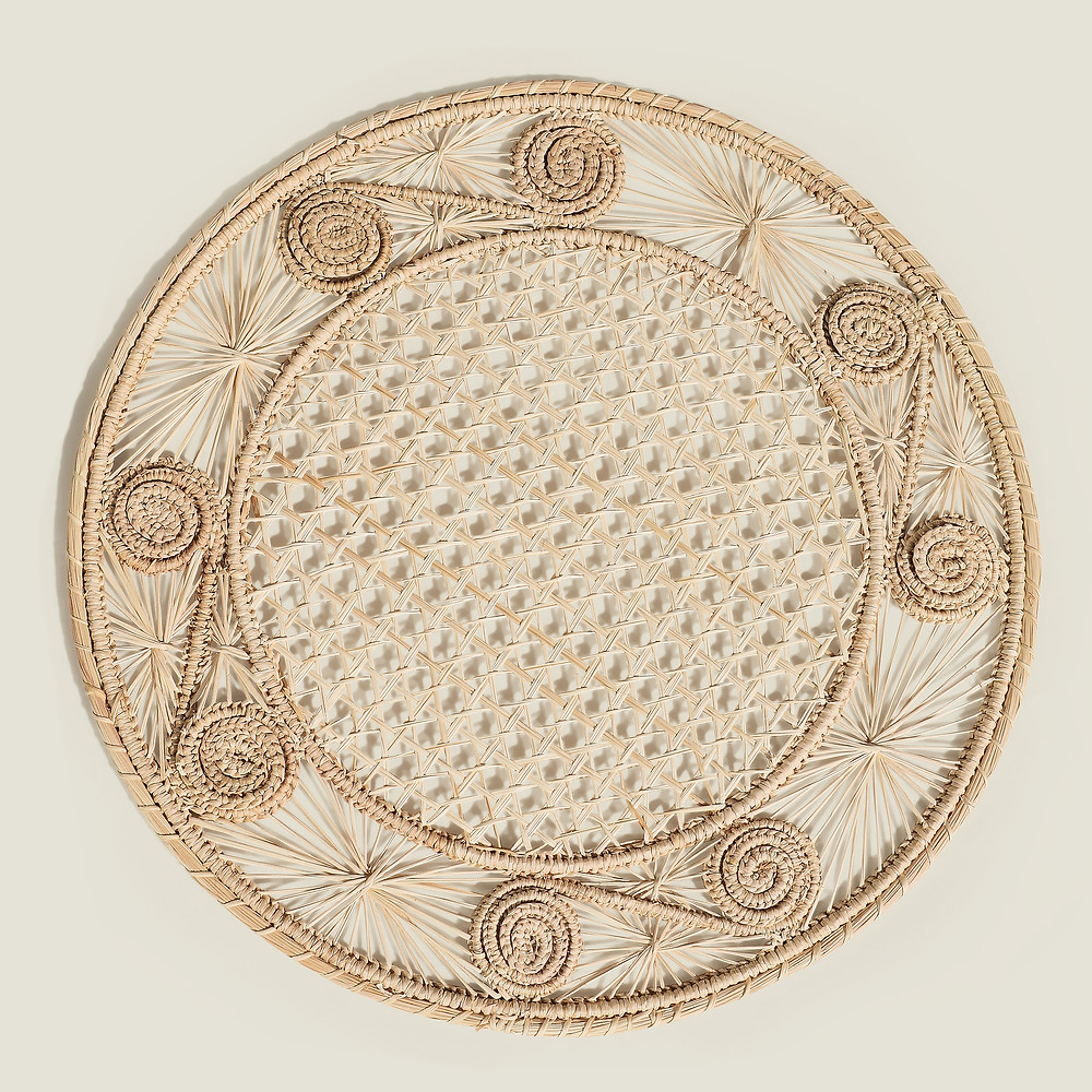 Sandra Woven Placemat - Natural