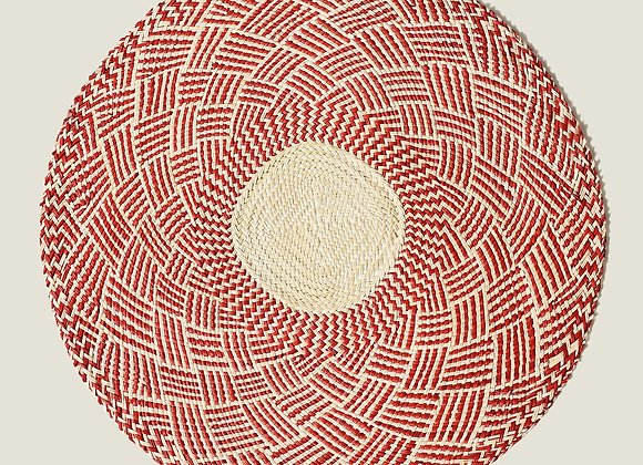 Colombian Handwoven Red Palm Placemats