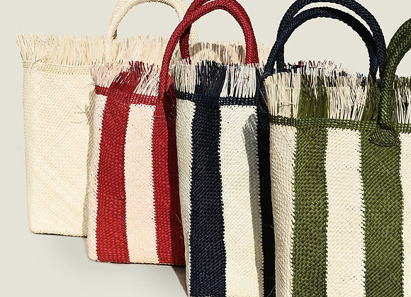 Colombian Handwoven Palm Tote Bag