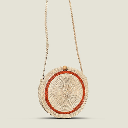 Colombian Handwoven Straw Palm Shoulder Bag