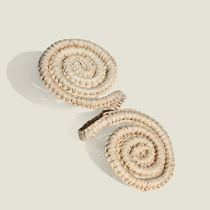 Colombian Handwoven Straw Palm Napkin Ring