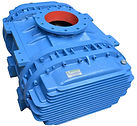 Rotary tri lobe air blower