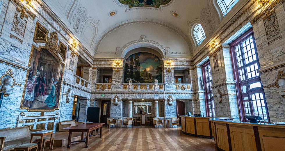 The Royal Dramatic Theatre (Dramaten) Hall