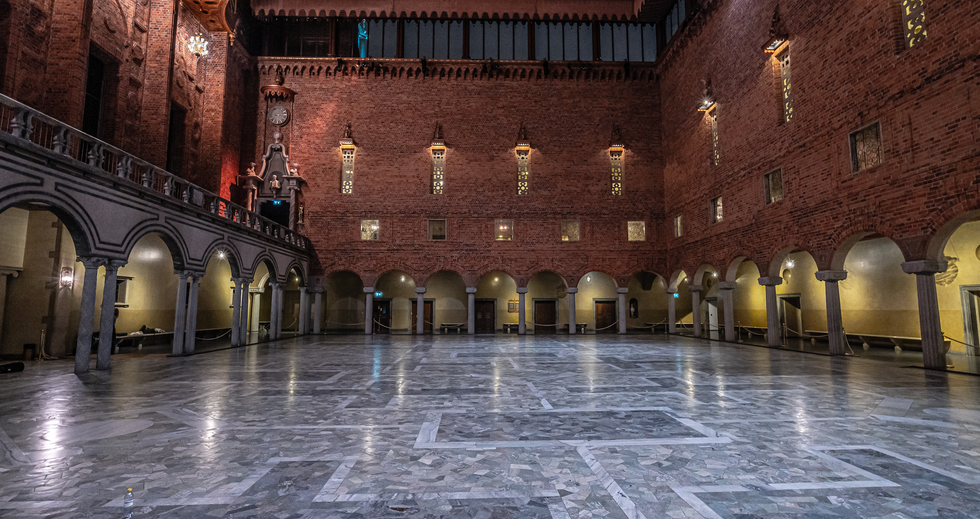 Stockholm City Hall: Blue Hall