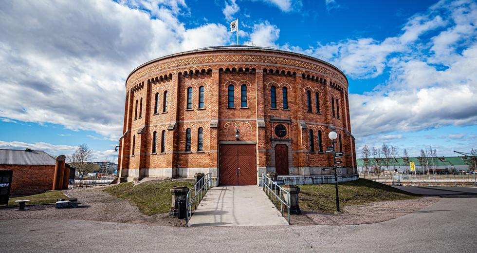 Large gas bell Gävle