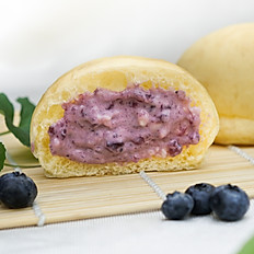 Blueberry Cream Bun