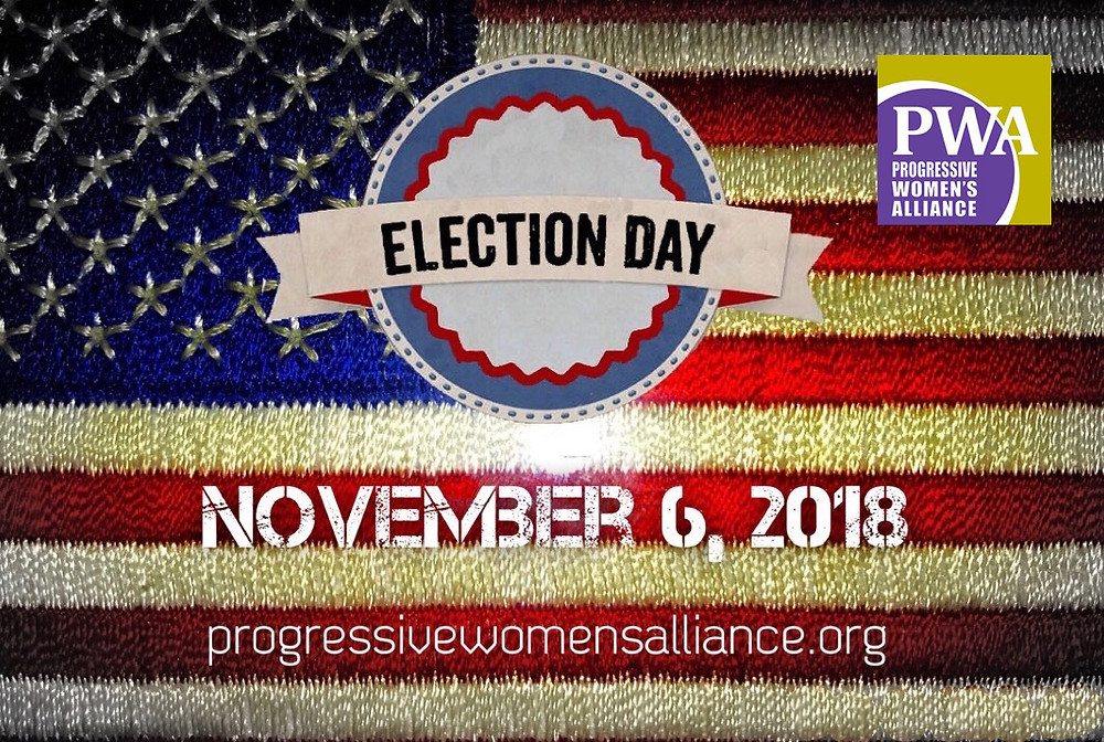 PWA, Election Day, November 6 2018, Vote