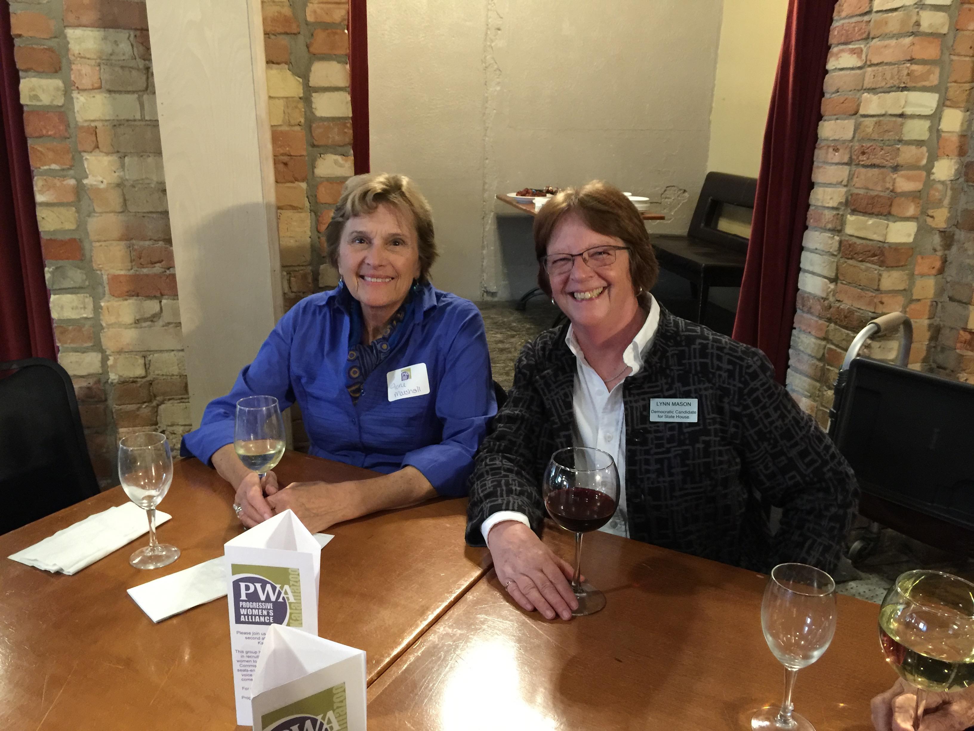 June Marshall & Lynn Mason