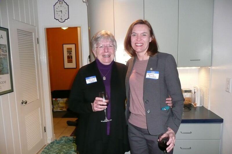 Mary Alice Williams, Rep Winnie Brinks