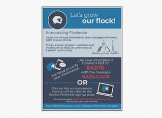 Announcing Flocknote - Let's Grow Our Flock!
