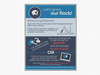 Announcing Flocknote - Let's Grow Our Flock!