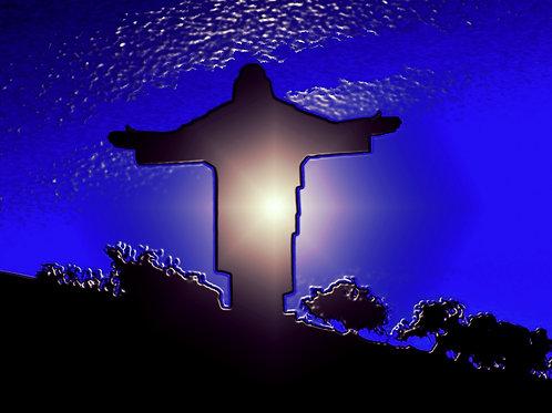 Blue Christ