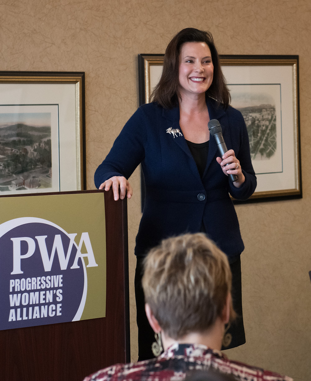 Gretchen Whitmer, PWA Annual Fundraiser 2017