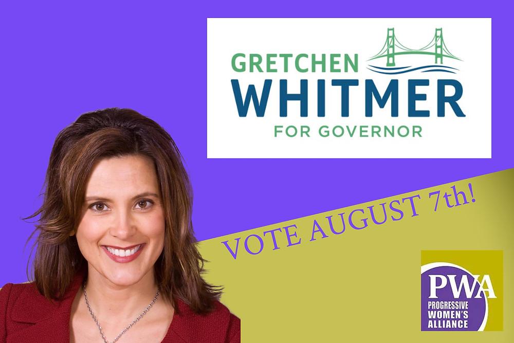 Gretchen Whitmer, PWA