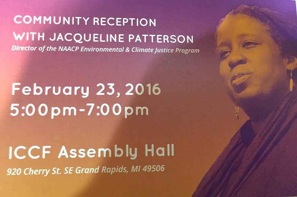 Jacqueline Patterson, NAACP