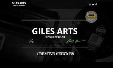 Giles Arts, Creative Services, VFG Creations LLC, Greg Giles