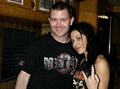 Greg Giles, Giles On Air, Metal on 107.3 WKLQ, Cristina Scabbia, Lacuna Coil