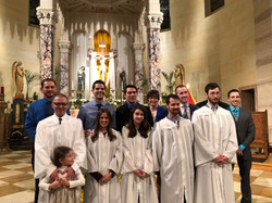 Basilica of Saint Adalbert, Candidates and catechumens