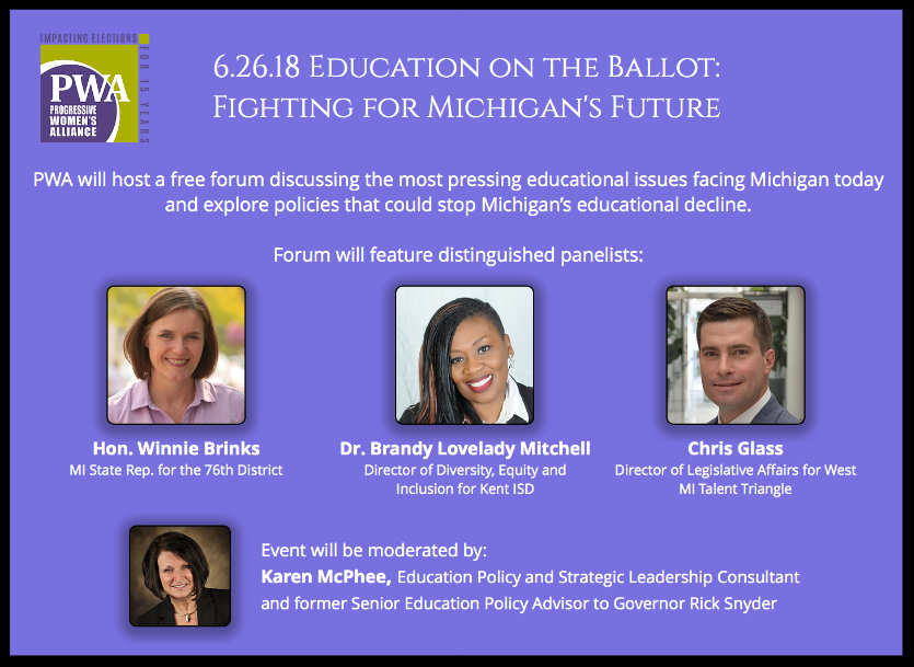 PWA, Education on the Ballot: Fighting for MI's Future