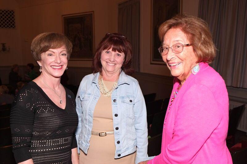Bette Sebastian, Noreen Myers, Vernis Schad at Bette Davis Performance