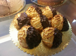 Facebook - Fresh baked this morning by Chef Lisa x-large coconut cookies