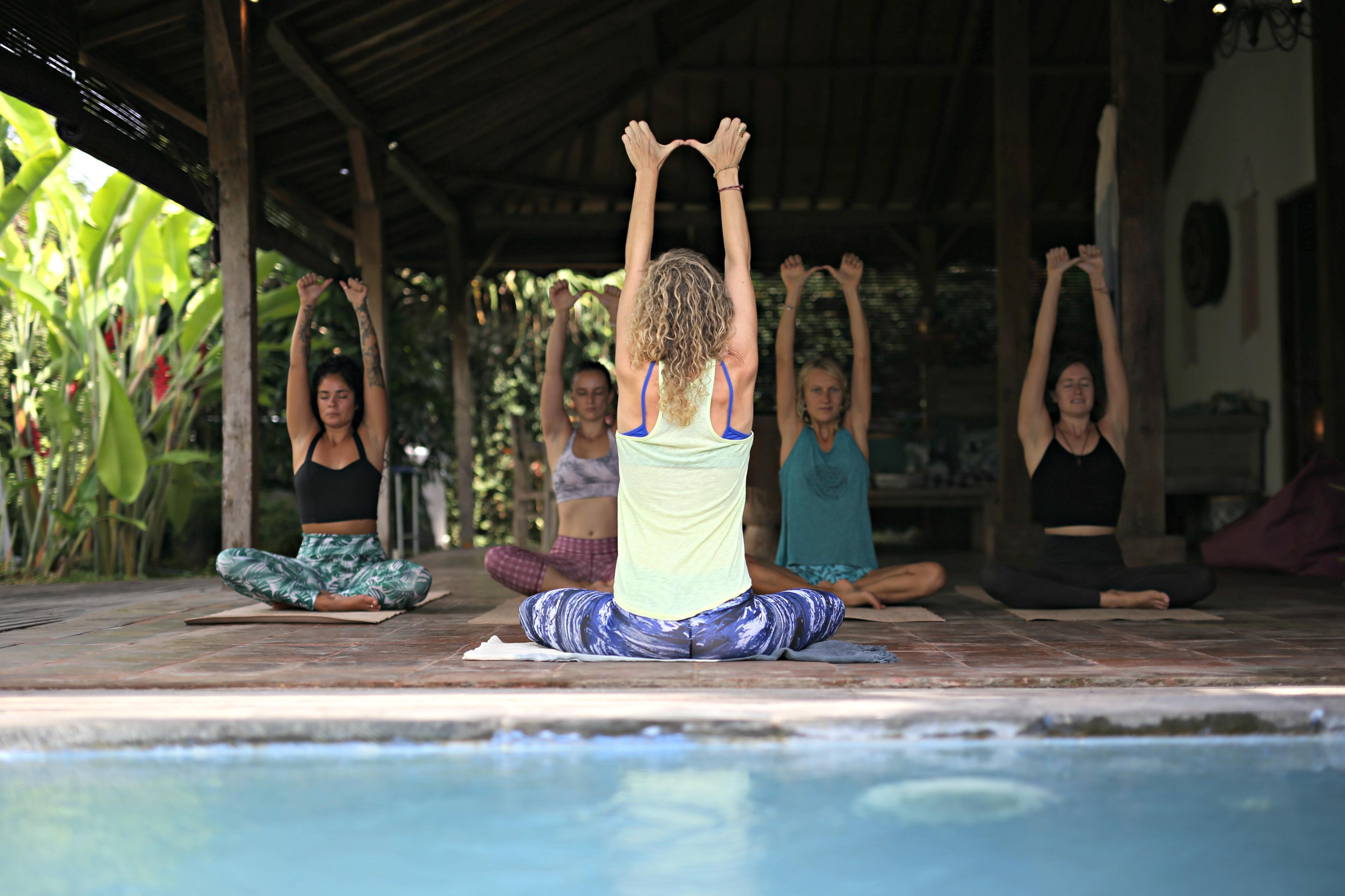 In Villa Private Yoga
