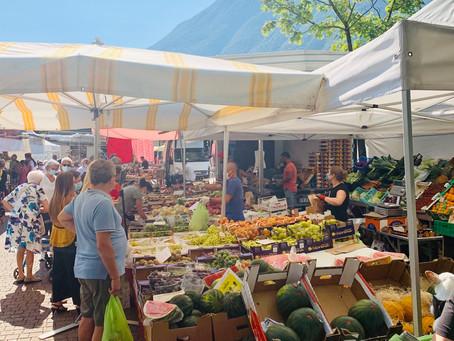 13 markten in de omgeving van Porlezza