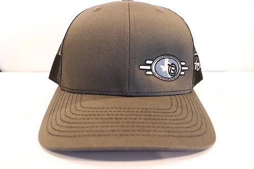 Tracy Byrd Logo Grey and Black Hat