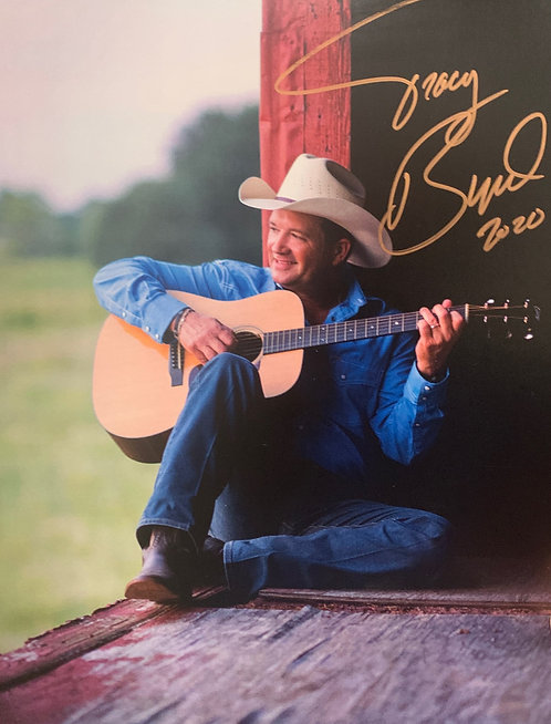 Autographed Tracy Byrd Photo