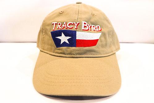 Texas Flag Khaki Hat