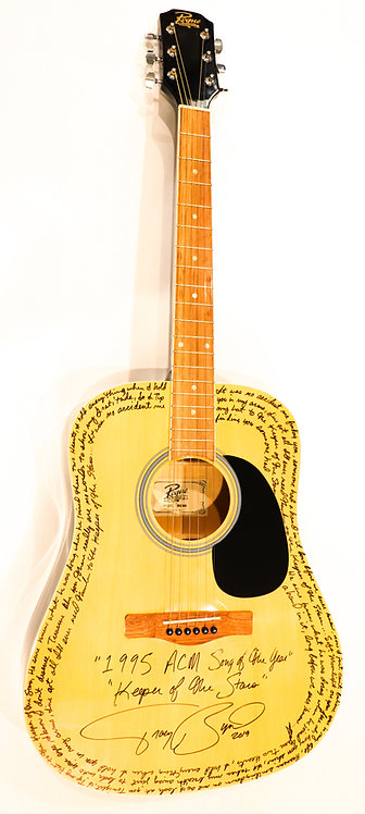"Keeper of the Stars ""Blonde"" Signed Guitar"