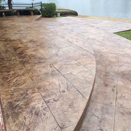 Exterior Concrete Overlay