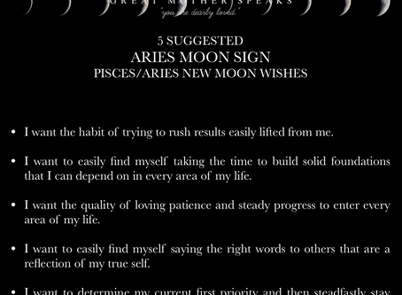 ARIES MOON SIGN April New Moon READING 2018