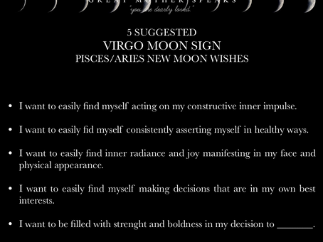 VIRGO MOON SIGN April New Moon READING 2018