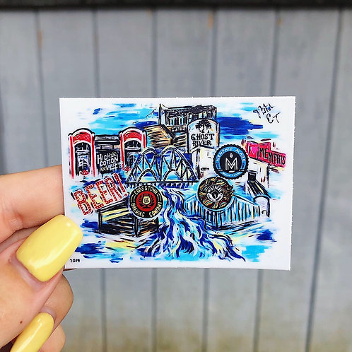 Pop Art Memphis Stickers