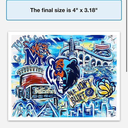 Pop Art Memphis Magnets
