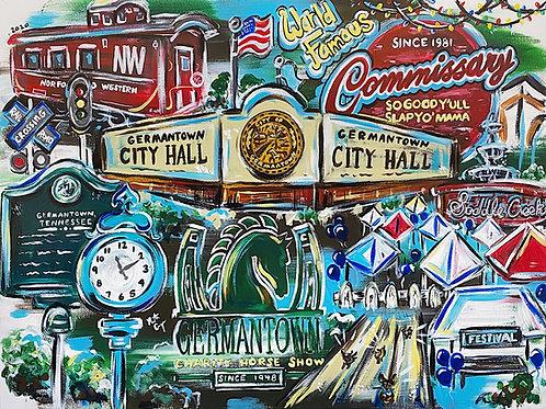 Pop Art Germantown Print