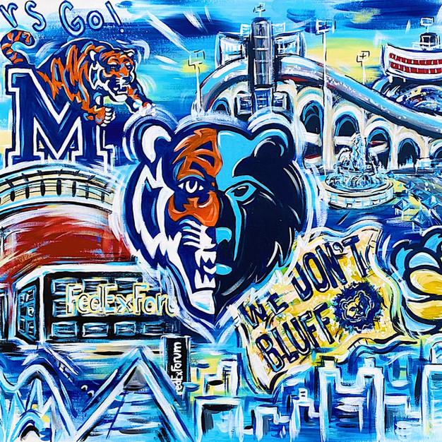 Memphis Sports Collage