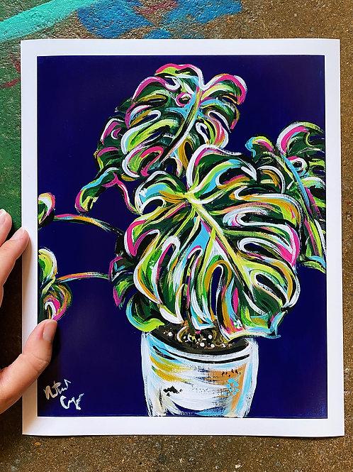 Pop Art Plant Prints