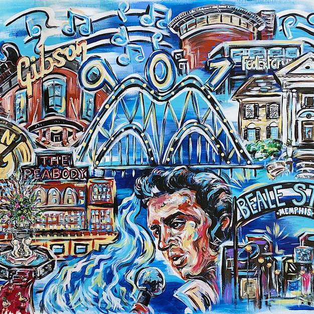 Memphis Tourism Collage