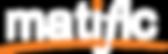 Copy of matific logo white - orange-01.p
