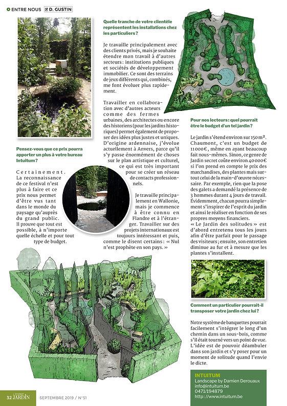 Jardin Belgique ville paysage