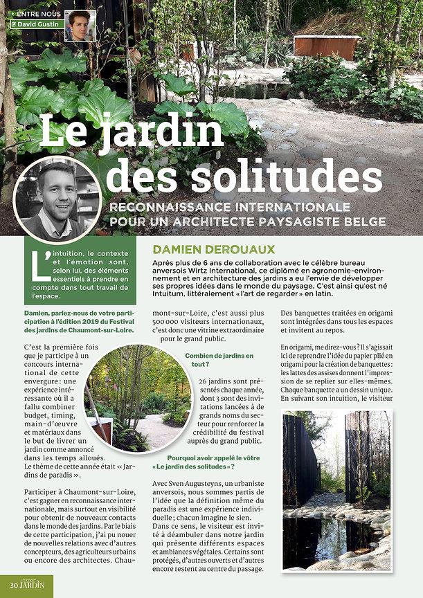 Architecture des jardins et du paysage Gembloux