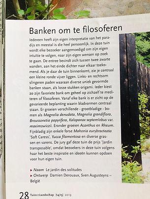 Tuin architectuur belgie