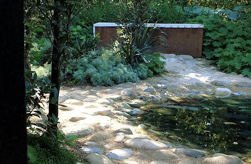 Jardin d'eau France bassin architecte pa