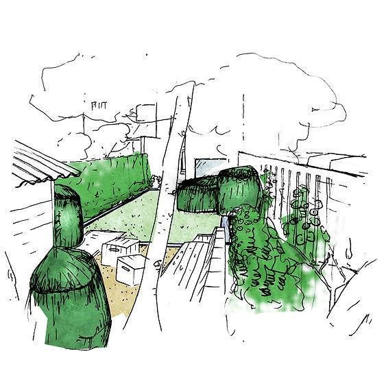 Architecte paysagiste liege jardin de ville