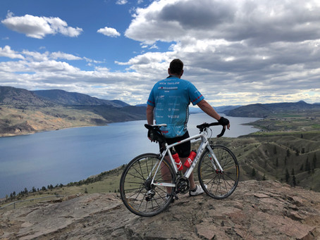 GBA Sponsor Nick Taylor Smashes Cross Canada Cycle Challenge