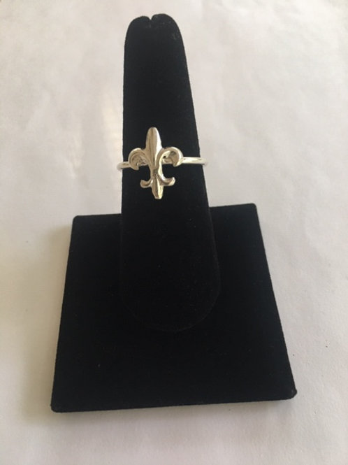 RS51 Saint Sterling Silver Ring
